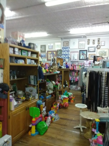 toy section